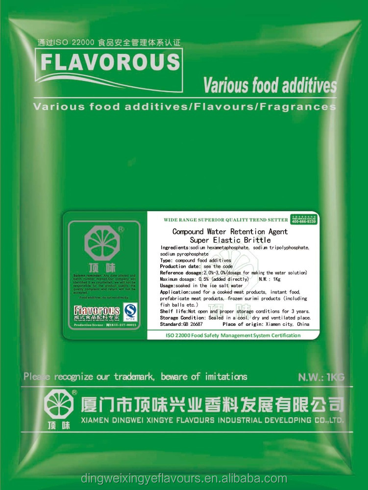 Flavouring Powder for Crisp and Elastics Mixed Seasoning Powder
