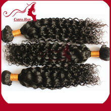 Carina Hair Products Jerry Curl Cheap Amazing 100% Tangle Free 5a Virgin Remy Hair Extension Bridal