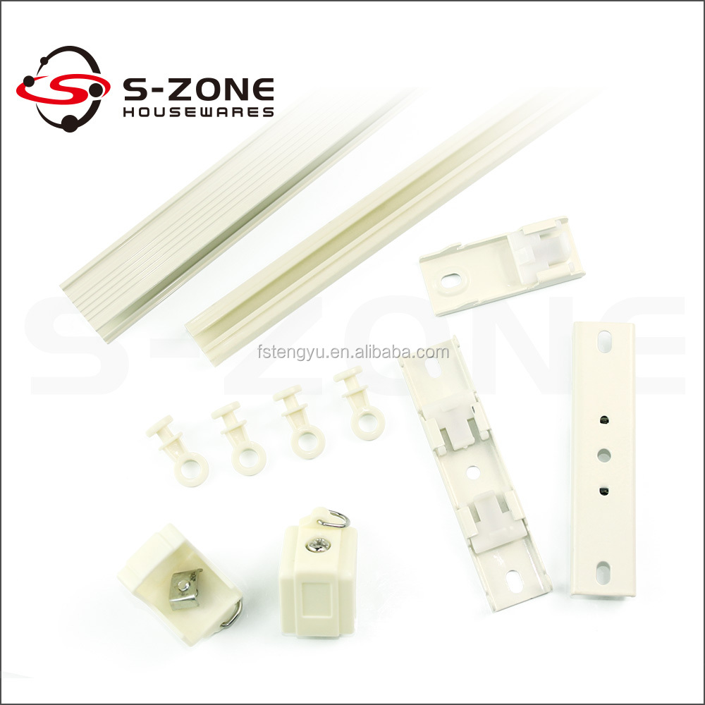 European design ceiling mount aluminum curtain track with competetive price