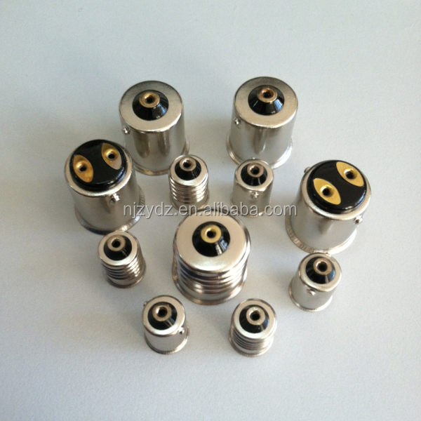 All kinds of car bulb socket BA15D BA9S BA15S base