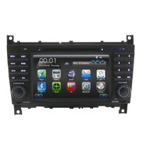 car dvd radio gps navigation with bluetooth+built-in gps Auto Radio for Mercedes W203 Auto Radio car electronics dvd player