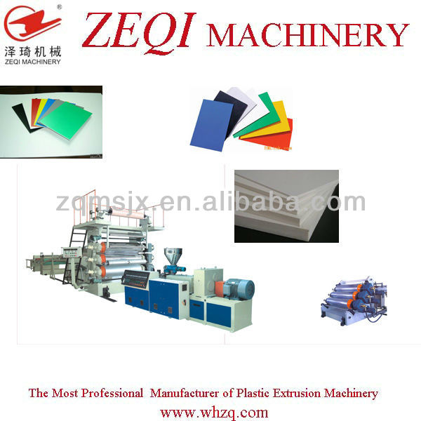Plastic PP board production line