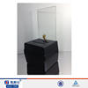 Black acrylic charity donation ballot tip box container