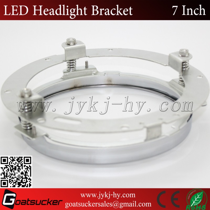head lamp accessory for jeep wrangler for off road,semi-truck,motor Alibaba golden supplier 7inch stainless steel bracket
