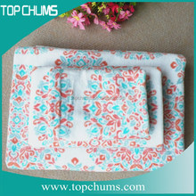 Wholesale 100% cotton nice tea towel gift sets