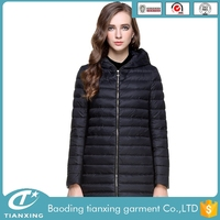 Women Coat Jacket Long Hooded Winter Warm Ladies Jacket