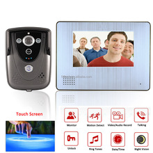 7inch new products 2015 smart home improvement,Night Vision Video Doorbell,video doorbell for apartments