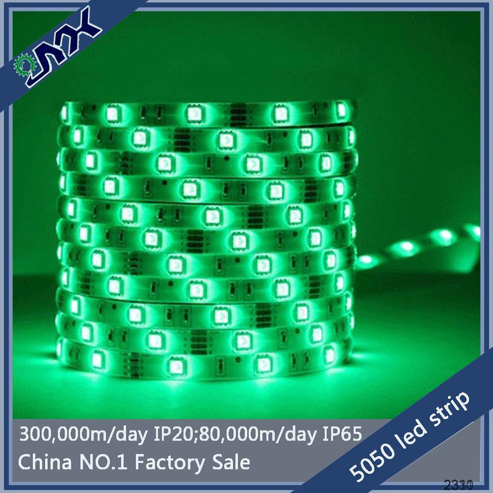 100% factory SMD 5630 60Leds/M garden lamp pole lamp outdoor led strip light 5m IP20/IP65 12V with CE&RoHS ,FCC