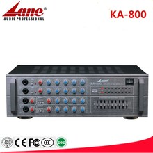 Lane 9 Band EQ Digital Stereo Mixing Karaoke amplifier KA-800