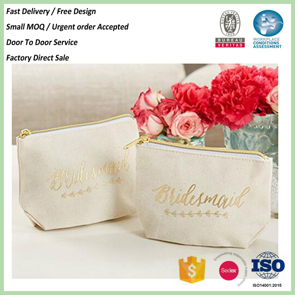 China Best High quality different shape design basics cosmetic bag With ISO9001 Certificate