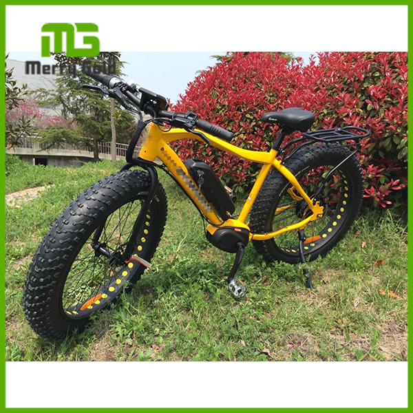 high quality CE approved center motor electric fat tire bike for sale
