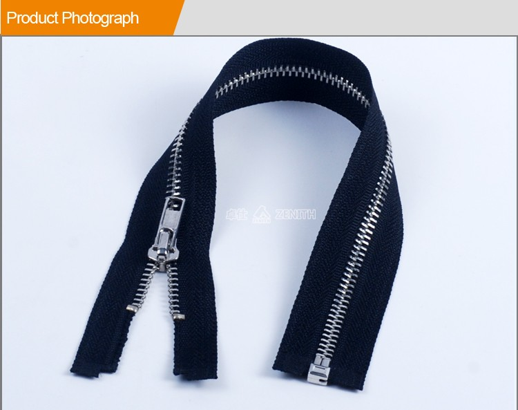 ZM10011 Oeko-tex Standard Zipper Slider Metal Cheaper Custom Metal Zipper Pull