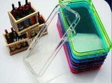 For iphone 5 TPU gel case, clear color