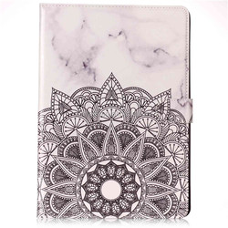 Hot selling marble pu leather wallet mobile phone case for ipad 2 3 4