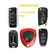 Standare key 3+1 button remote control key for KD300 KD900 and URG200 to produce any model remote programmable blank car keys