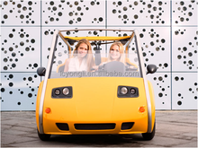 600cc cheap gasoline mini car with 2 seats