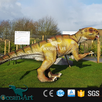 BY-DY-042002 Outdoor square animatronic decorative dinosaur