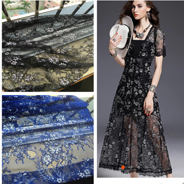 Chinese manufacturers direct sales lace dress fabric wholesale printing lace fabric
