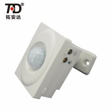 High Sensitive AC185V-AC245V Motion Sensor Automatic Light Switch, Automatic Sensor with Adjustable Detection Angle