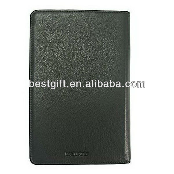 Leather laptop sleeve material slim kindle fire jacket leather material