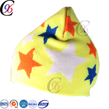 Chengxing new style cheap top quality wholesale winter warm kintted outdoor new born baby hat