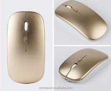 2.4GHz Wireless Ultra-thin Laser Optical Mouse with USB Mini Receiver for apple