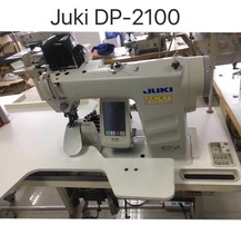 Original Made in Japan Used Juki DP-2100 Industrial Electronic lockstitch Sleeves Setting Sewing Machine