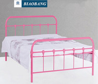 modern design double decker metal bed for adult