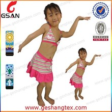 Little girls swimsuits so cute girls bikini shiny swimsuit for young girls
