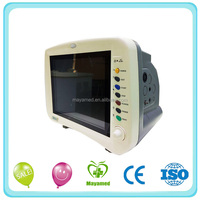MY-C009 Maya medical factory price 8 inch portable multi-parameter patient monitor for ambulance