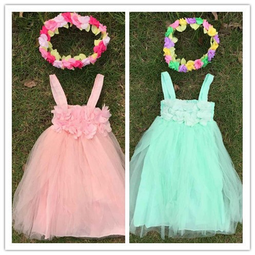 new design 2015 flower girl dress girls white dress chiffon girls dress