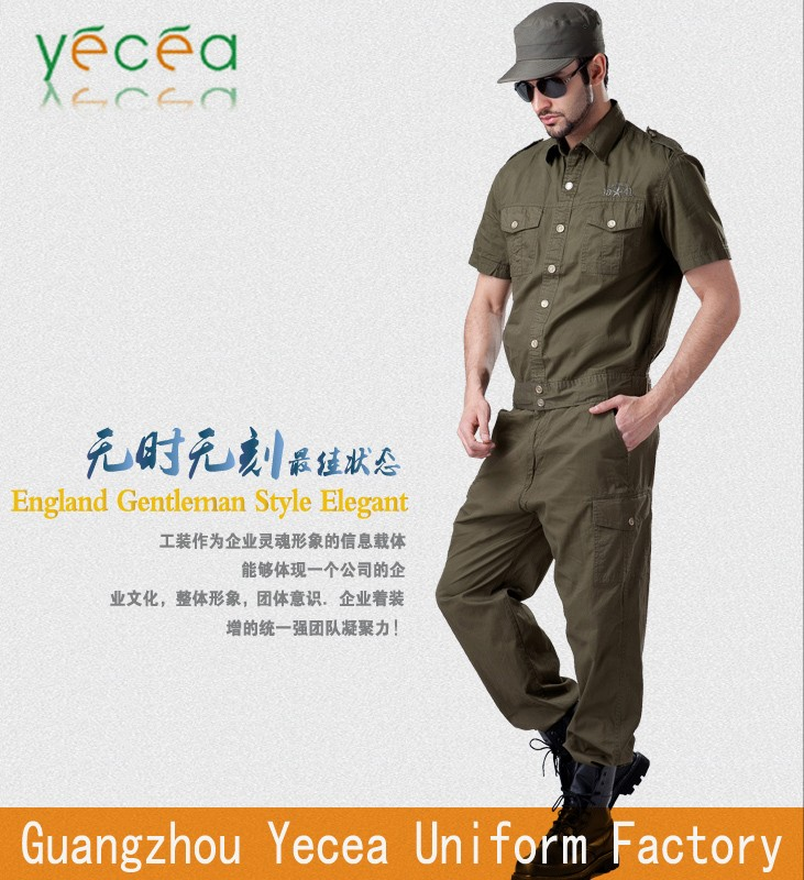 2016 latest Rip-stop royal Twill Cotton security guard military uniform