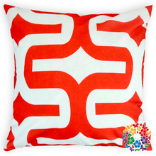2015 New Fashion Red Geometric Printing Cushion Cover Decorative Plain Square Pillow Covers Wholesale Decorative Pillow Covers