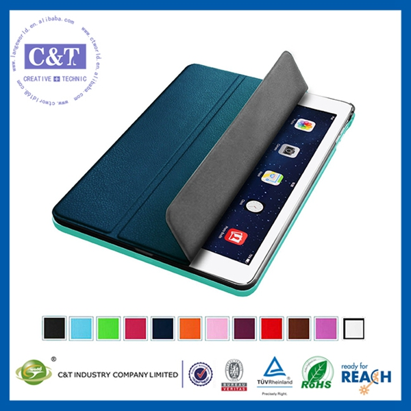 Fashion new product customized pu leathe case for ipad mini