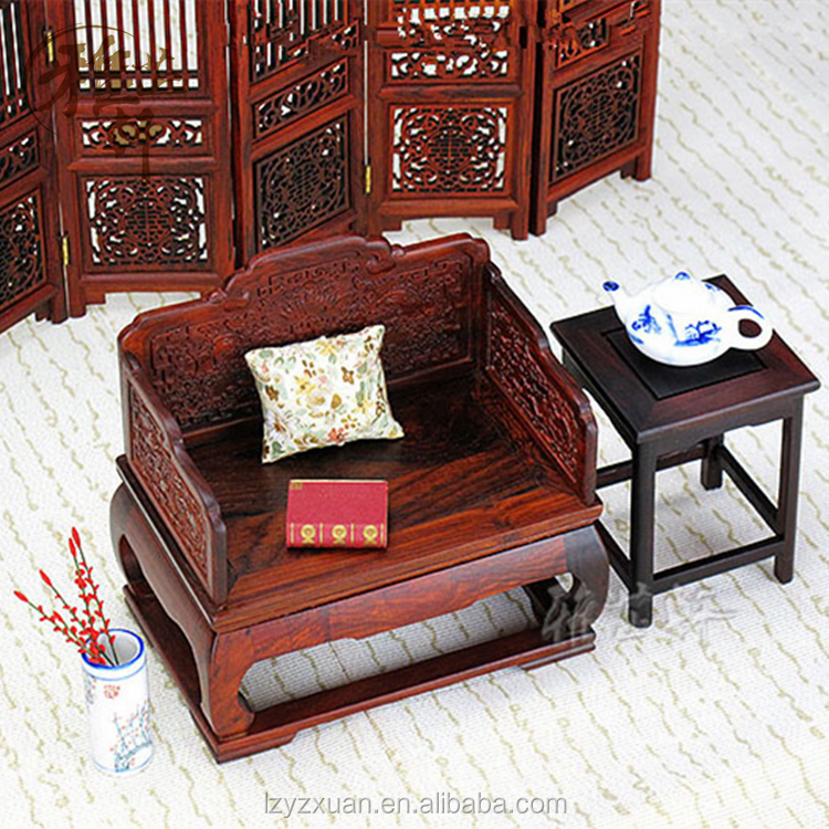 2016 Popular Wooden Carving Antique Miniature Dollhouse Furniture