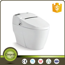 Home decoration bathroom one piece smart wc intelligent toilet with CE