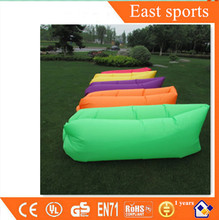 Fashion popular lounge air sleeping bed inflatable air sofa bed for outdoor camping