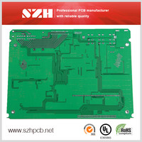 94vo 1oz 1.0mm pcb board with control switch in SZH China