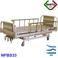 Hot Best-selling Hospital Bed Medical Bed Manual Bed Three Crank