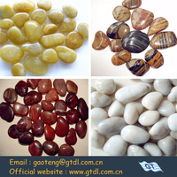 Coloured Mix Tumble Stone Pebbles for landscaping