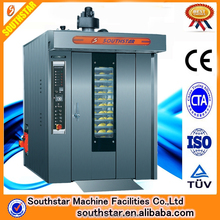 16 Trays industrial Big Volume hot-air cake Rotary oven