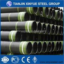 ERW welded Q235 low carbon hot dip galvanized scaffolding steel pipe