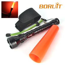 Traffic Torch Light Aluminum Alloy High Power LED Flashlight
