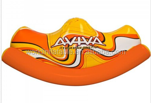 new design inflatable seesaw for water game