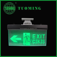 Ceiling Mount self luminous clear acrylic sign light