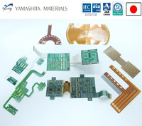 Heat-resistant Flexible PCB assembly made in Japan with quick delivery