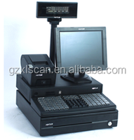 Hot model: NT-X6 supermarket cash register machine all in one pos system