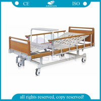 AG-BYS111 Healthcare patient furniture 2 cranks manual hospital bed