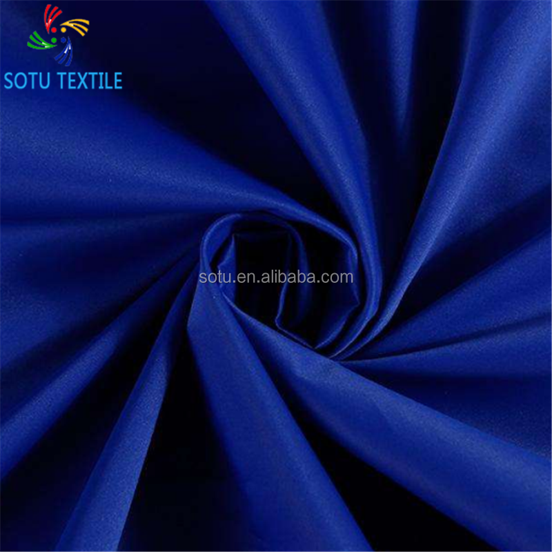 polyester 170T 180t 190t 210t lining fabric for bags clothing polyester satin pongee lining textile