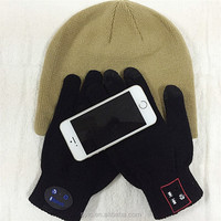 2015 Newest Design electronic tactile Screen gloves perfect compatitable for all bluetooth phones